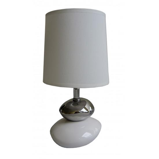 Lampa bílá Small stone